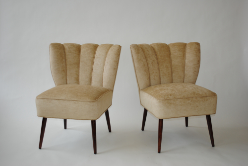 French 1940`s Cocktail Chairs