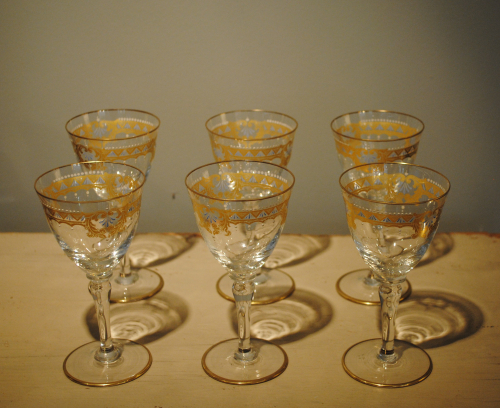 Set Of Sherry Glasses