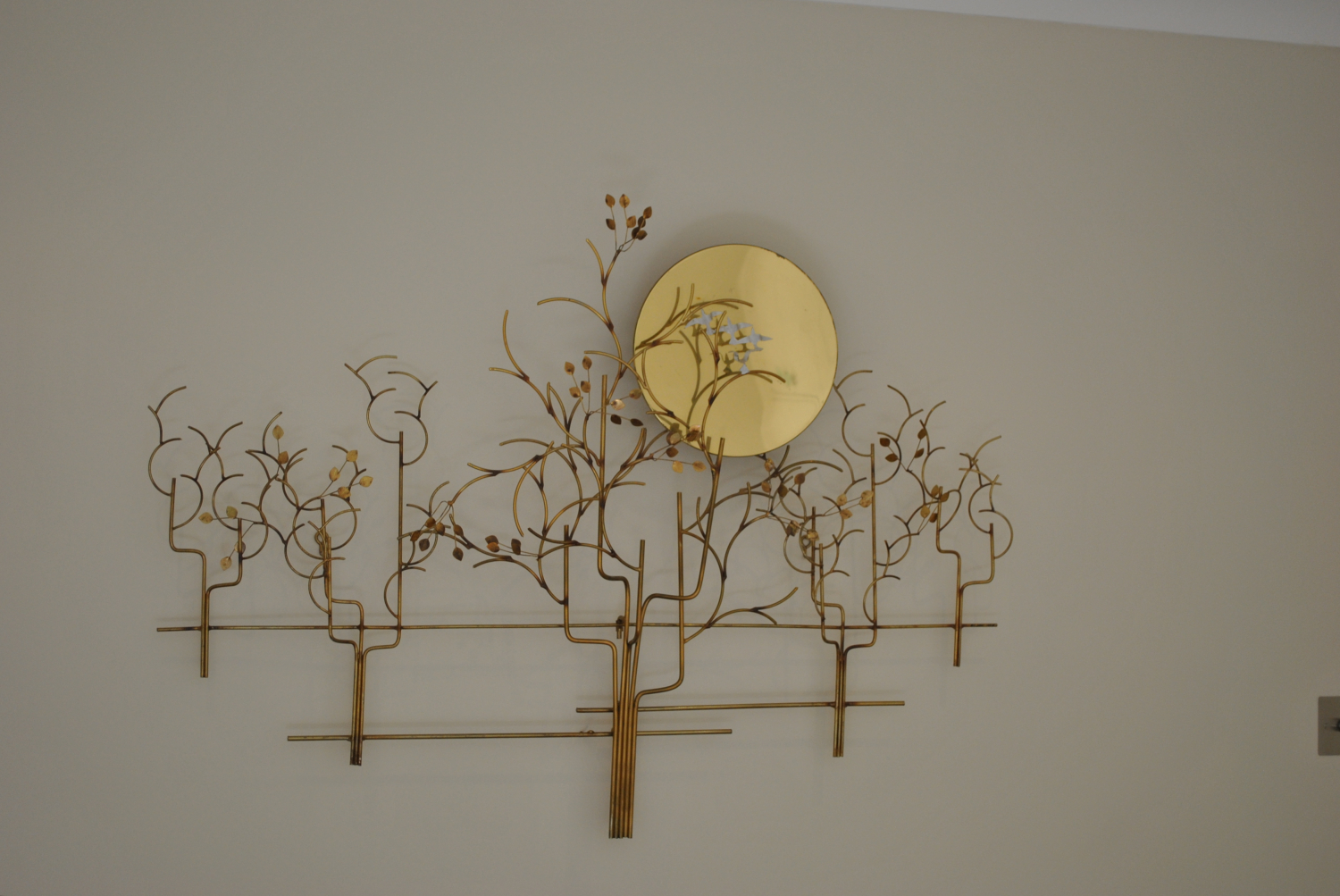 Setting Sun Wall Sculpture