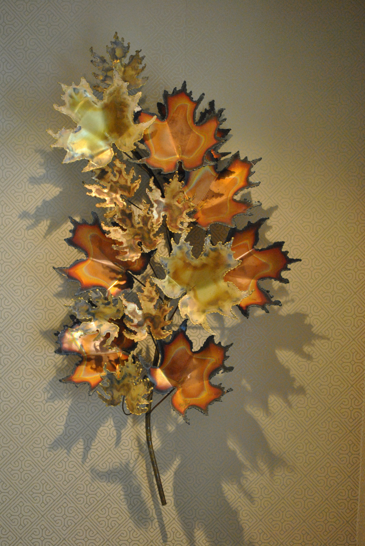 Curtis Jere Maple Leaf Sculpture
