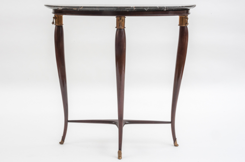 Marble topped console