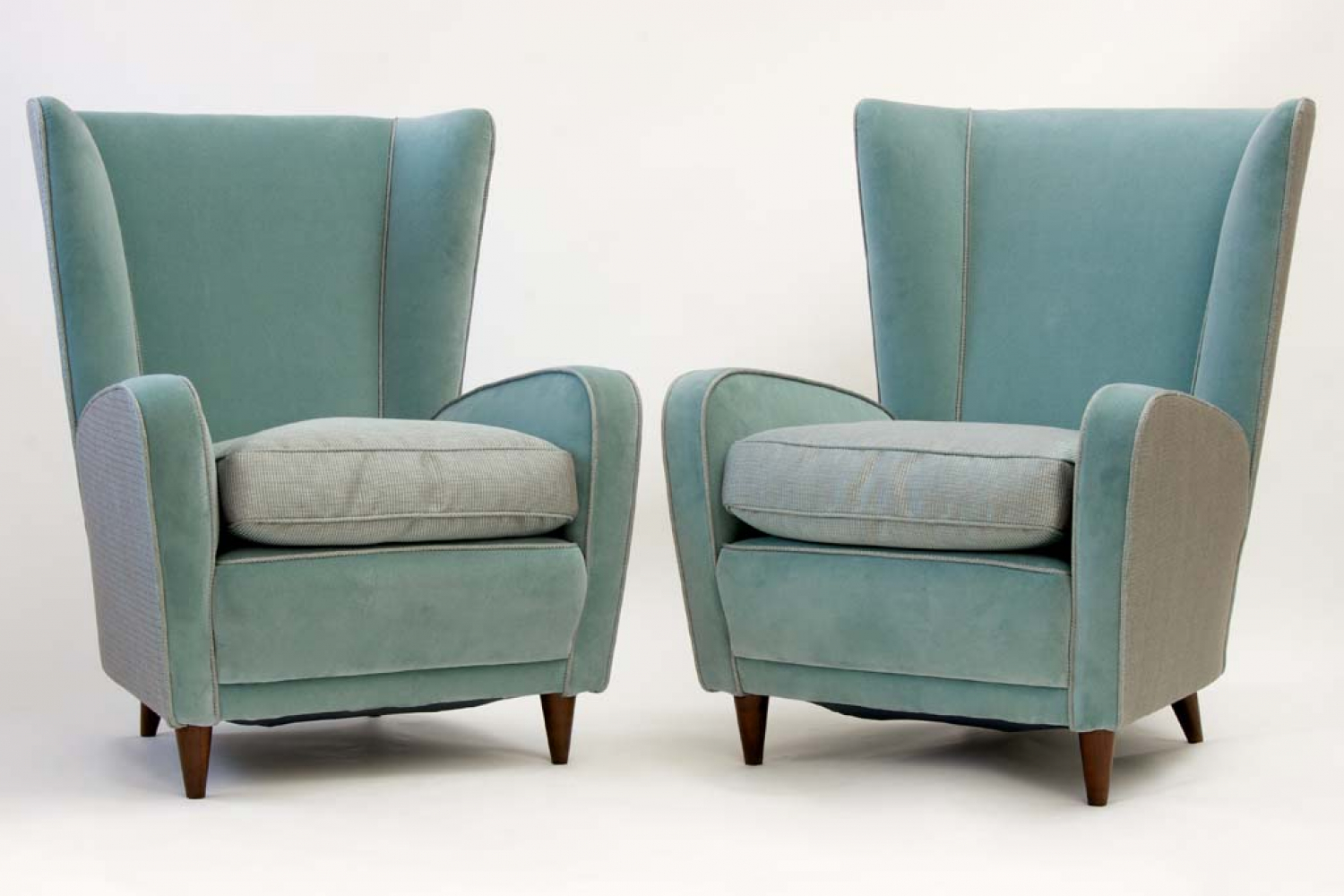 Pair of 1950`s Italian chairs