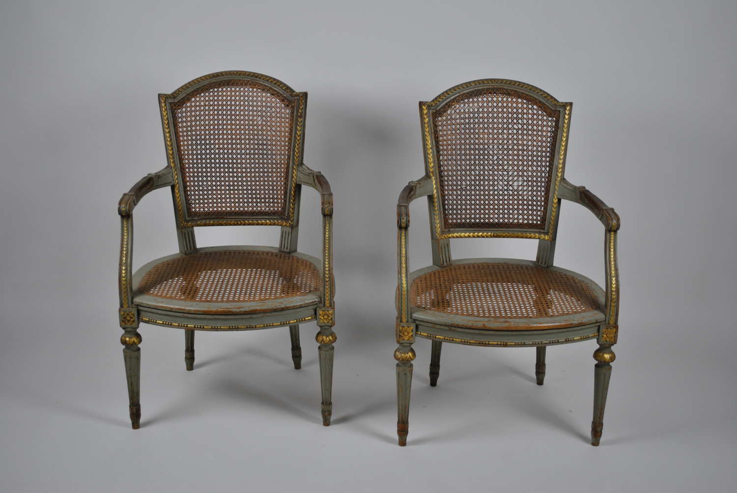 19th Century Cane Chairs