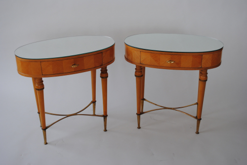 Beech Bedside Tables