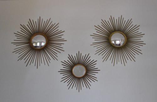 Vallauris Sunburst Mirrors