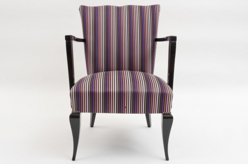 1940`s French Ebonised Chair