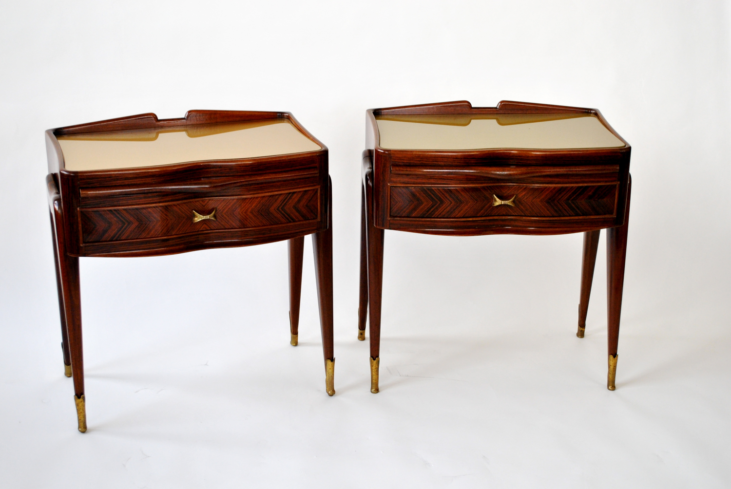 Rosewood Bedside Tables