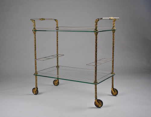 Maison Bagues Serving Trolley