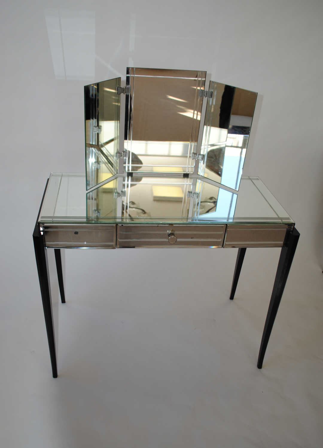 Ebonised Art Deco Dressing Table