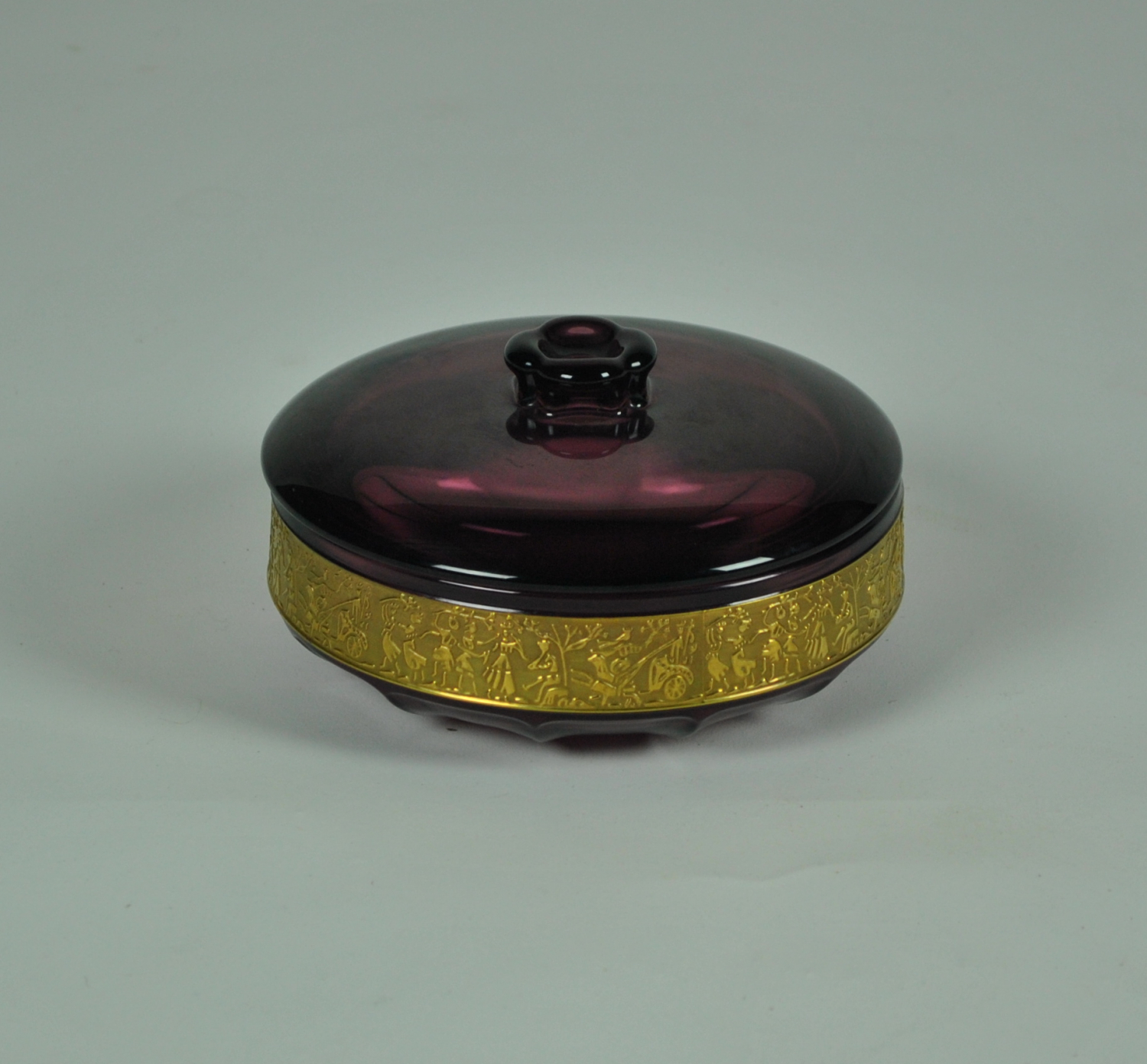 Moser Dish With Lid
