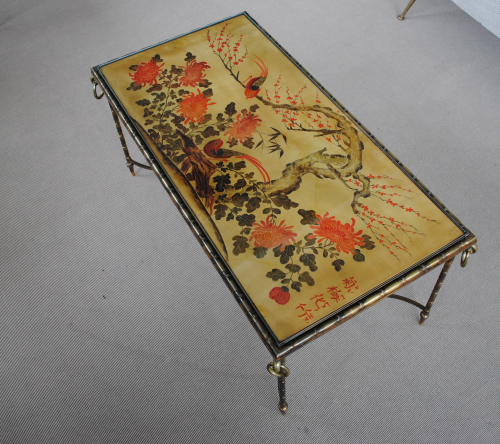 Lacquer Table by Bagues