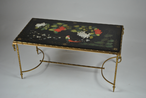 Bagues Black Lacquer Coffee Table