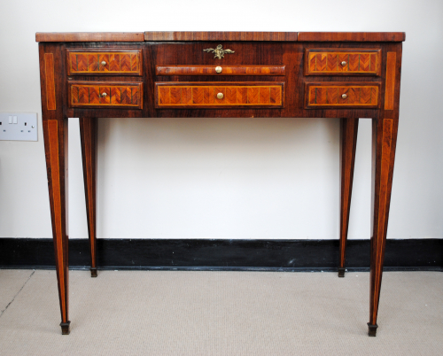 Inlaid Marquetry Dressing Table