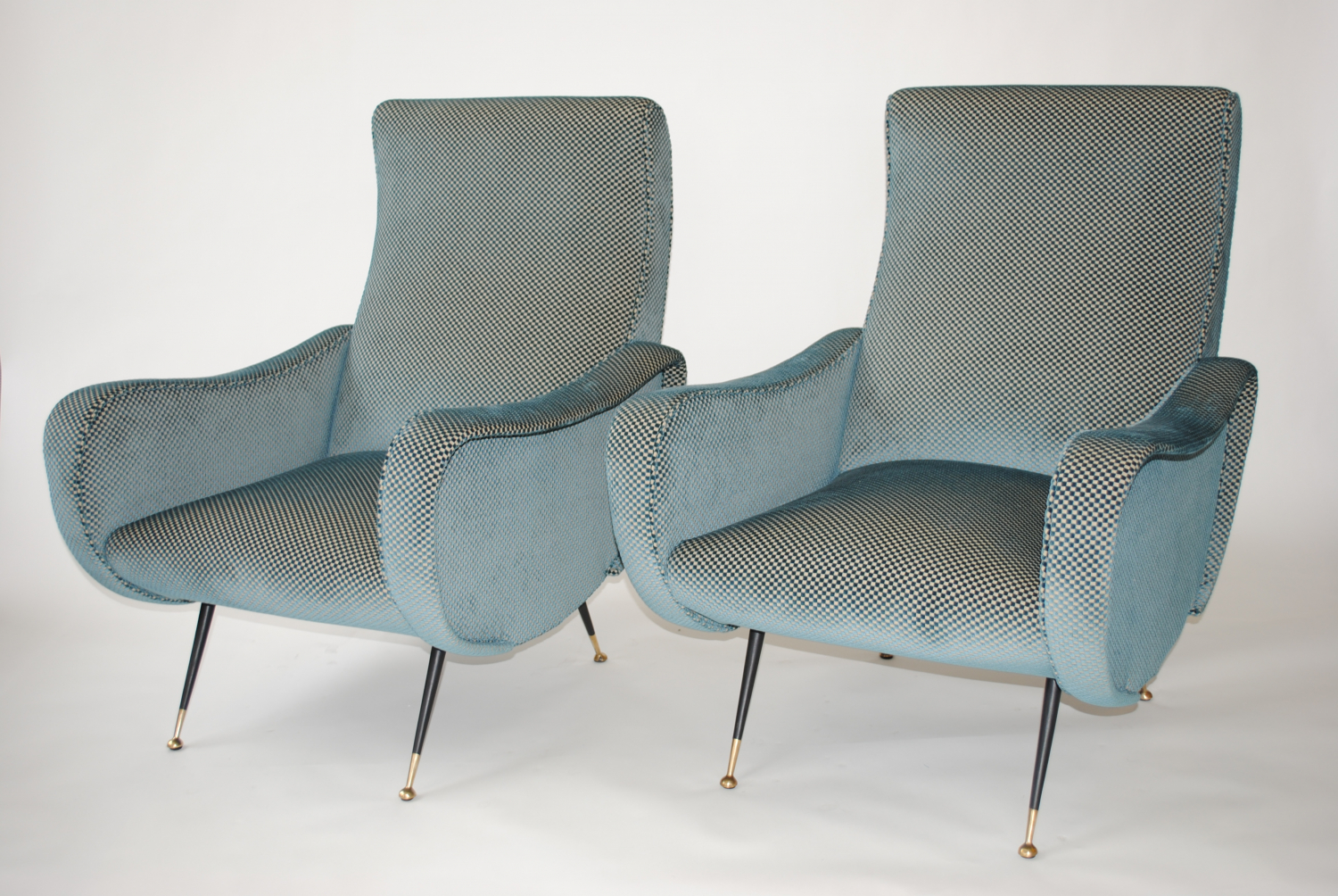 Mid Century Lady Chairs