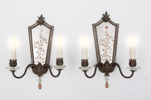 Mirrored Wall Lights