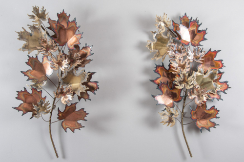 Maple Leaf Wall Sculptures