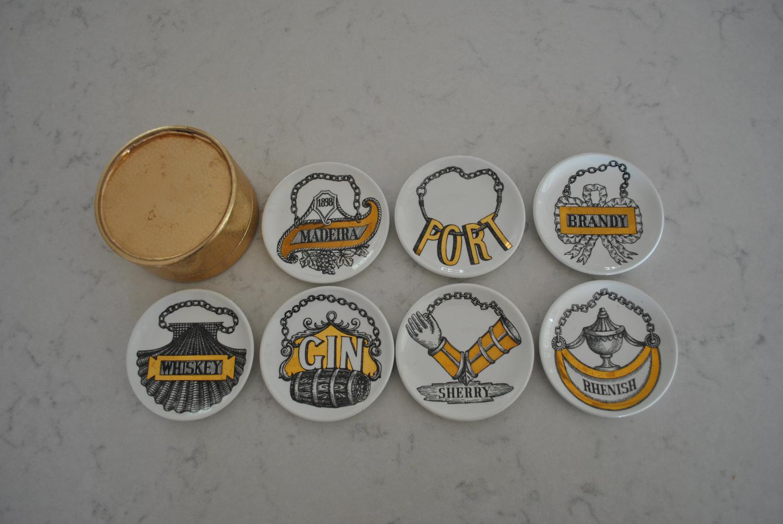 Set Of Fornasetti Coasters