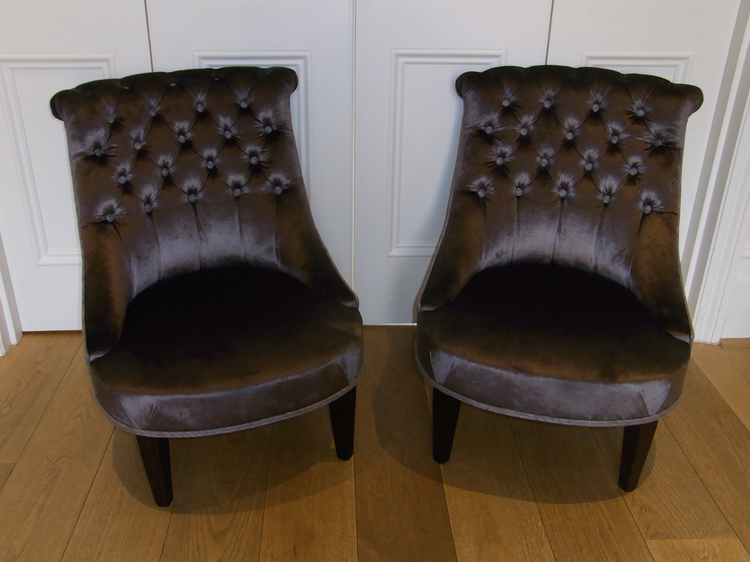 1930`s French Boudoir Chairs
