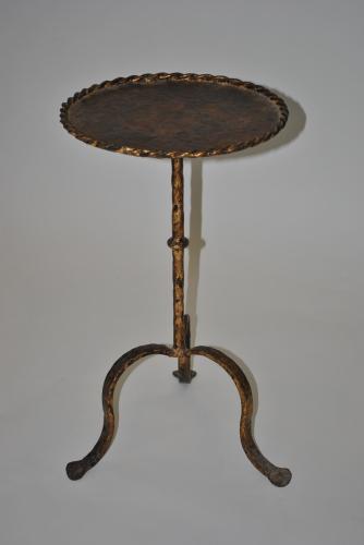 Painted Metal Side Table