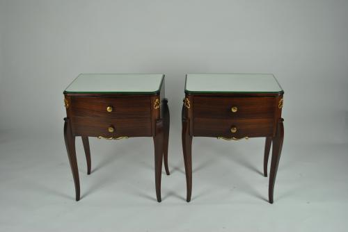 Rosewood Bedside Tables
