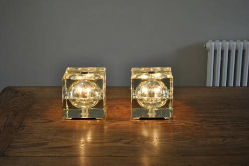 Pair of Mendini table lamps