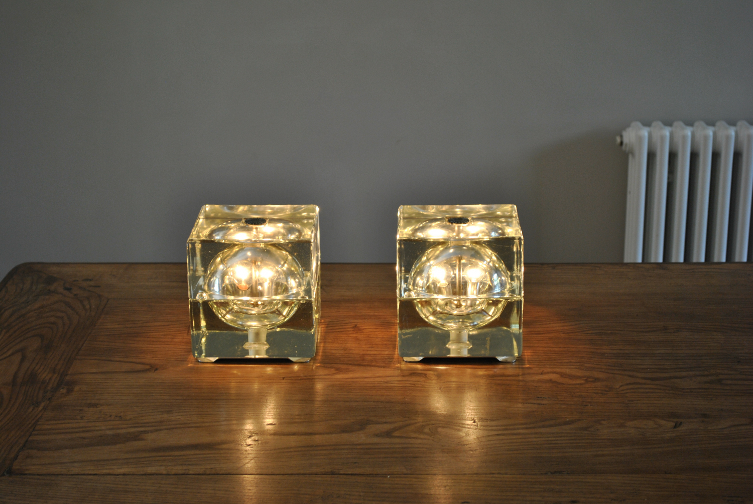 Pair of Mendini table lamps