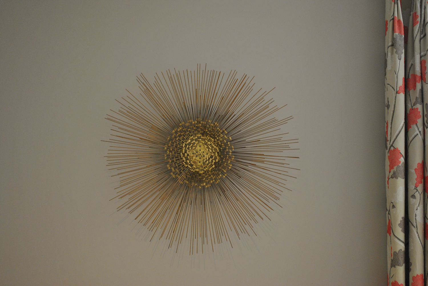 Sunburst Wall Sculpture