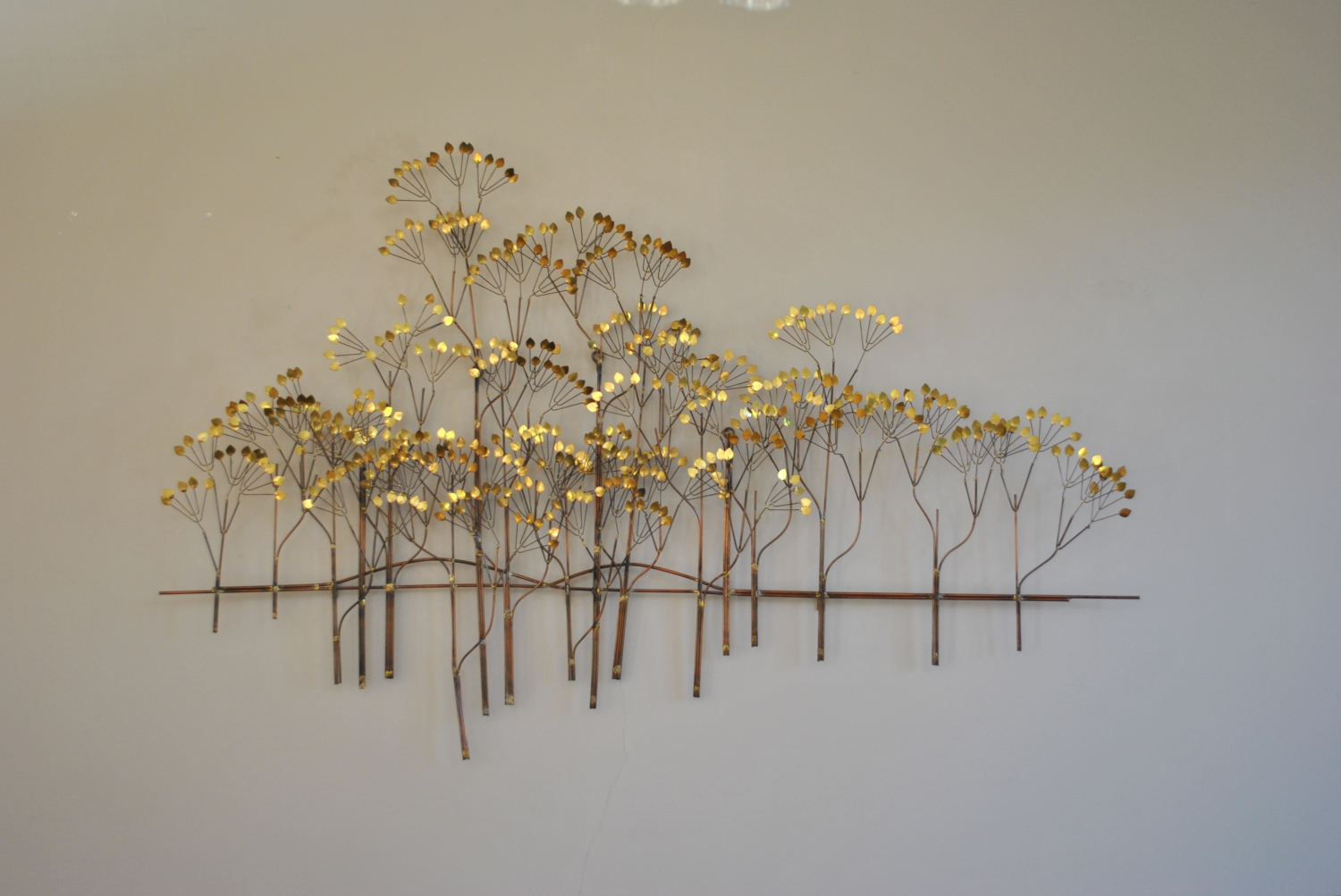 Autumn Trees Wall Sculpture