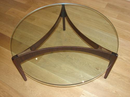 1960`s Danish Rosewood Coffee Table