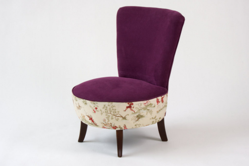 Pretty Nursery/ Bedroom Chair