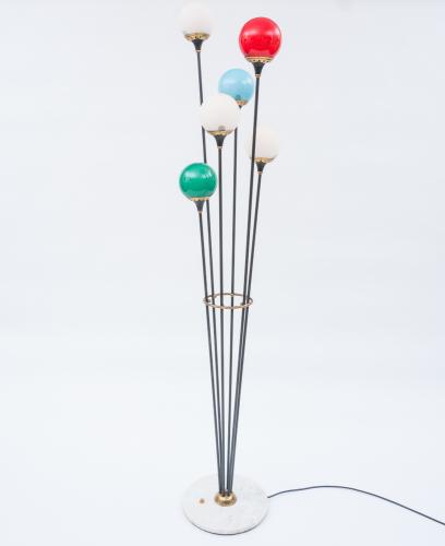 Coloured Floor Lamp