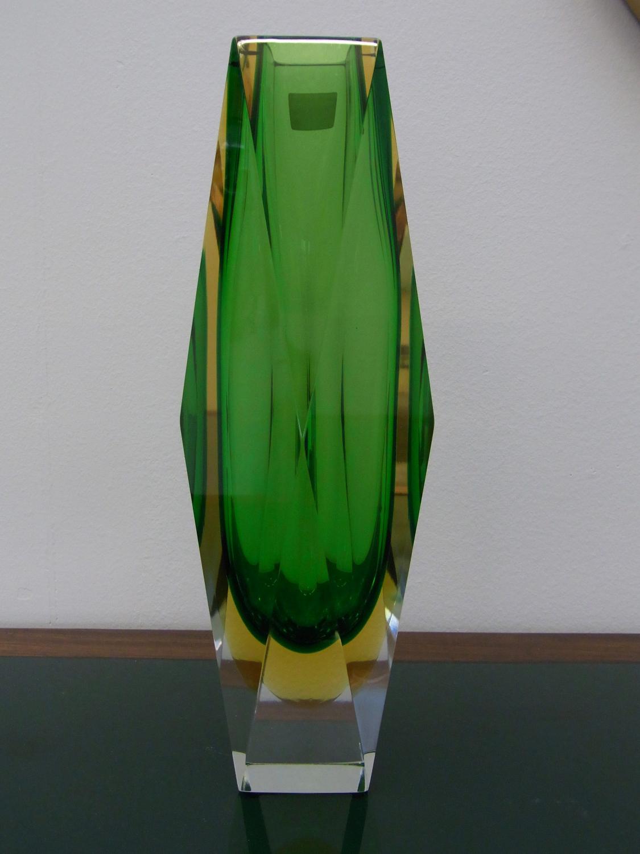 Large Mandruzzato Sommerso Vase