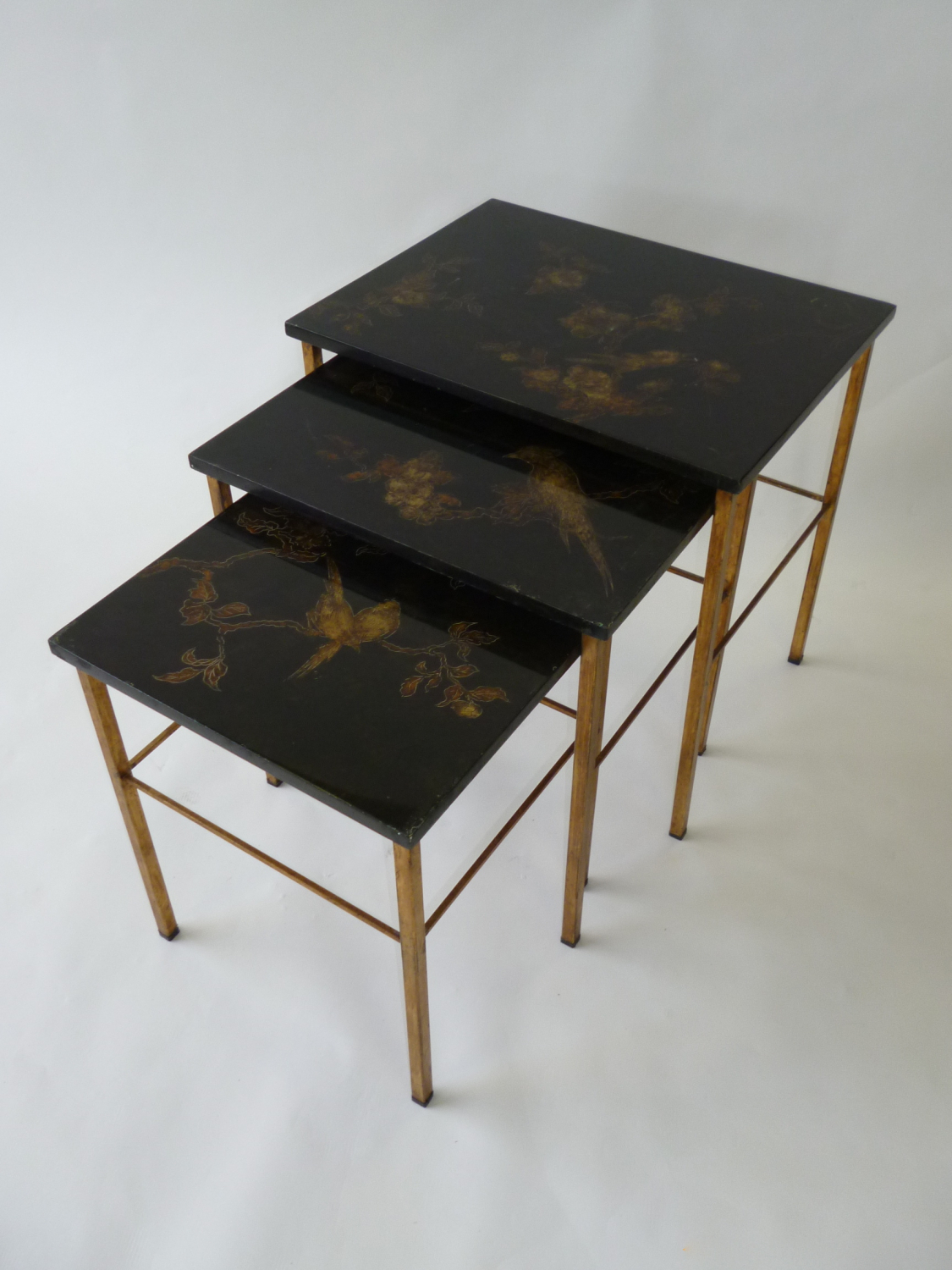 Lacquered Nest Of Tables