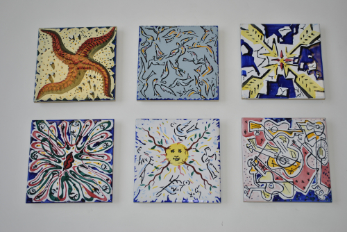 Set of Tiles by Dali