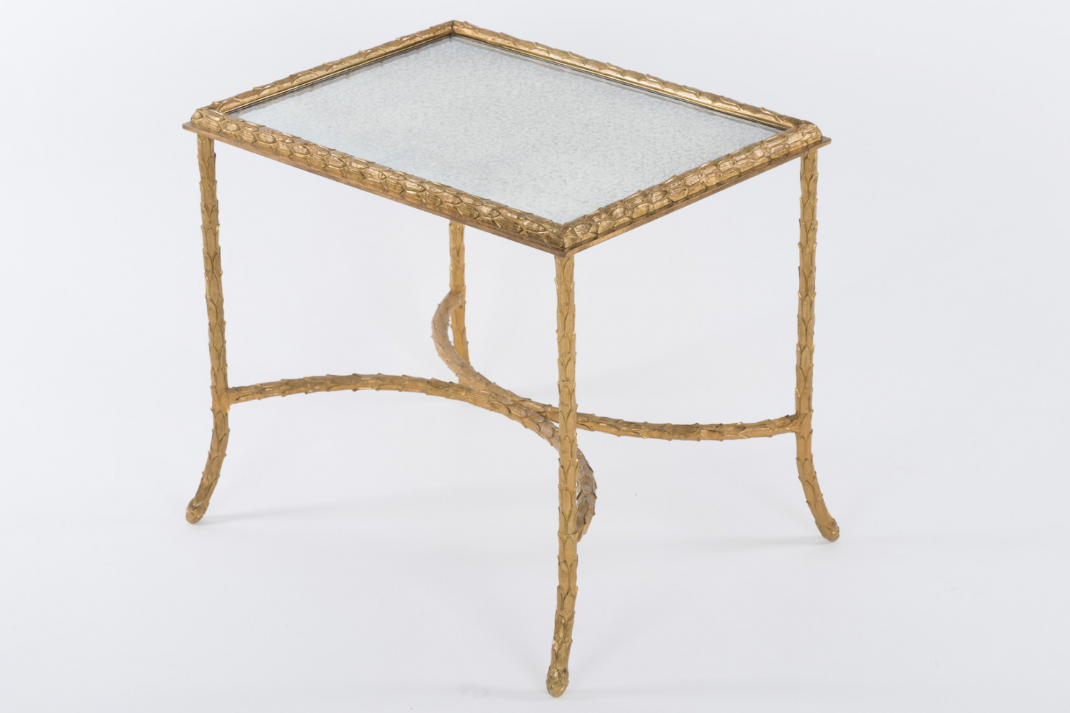 Maison Charles gilt bronze table