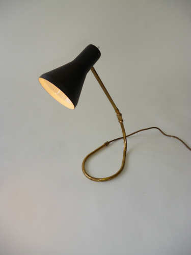Black Lacquered Desk Lamp