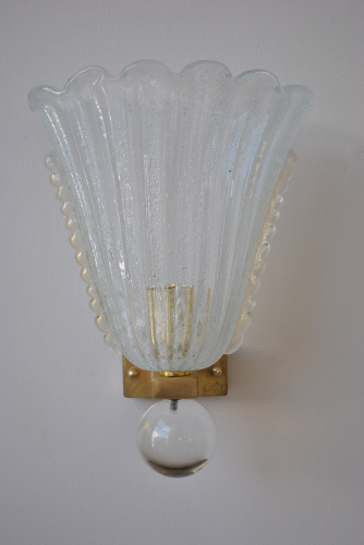 Pair of Murano Wall Sconces