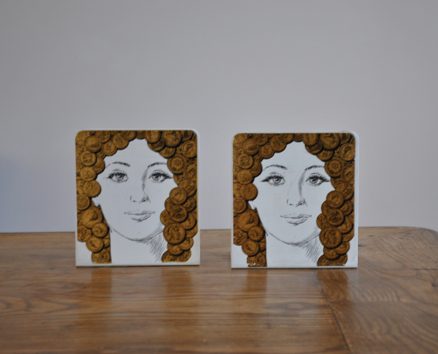 Fornasetti Bookends