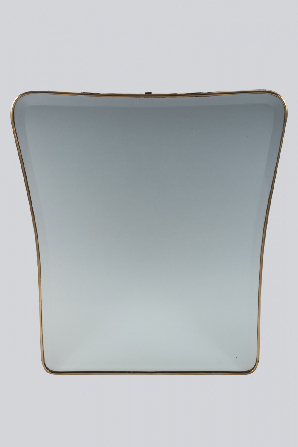 Brass Mirror with Bevelled Glass