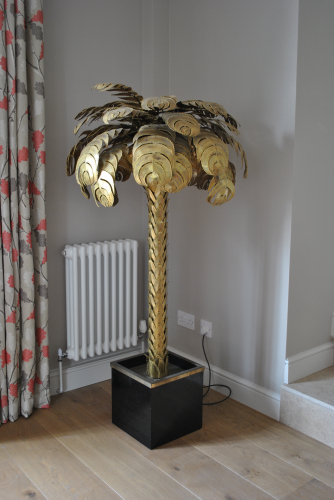 Brass Palm Light