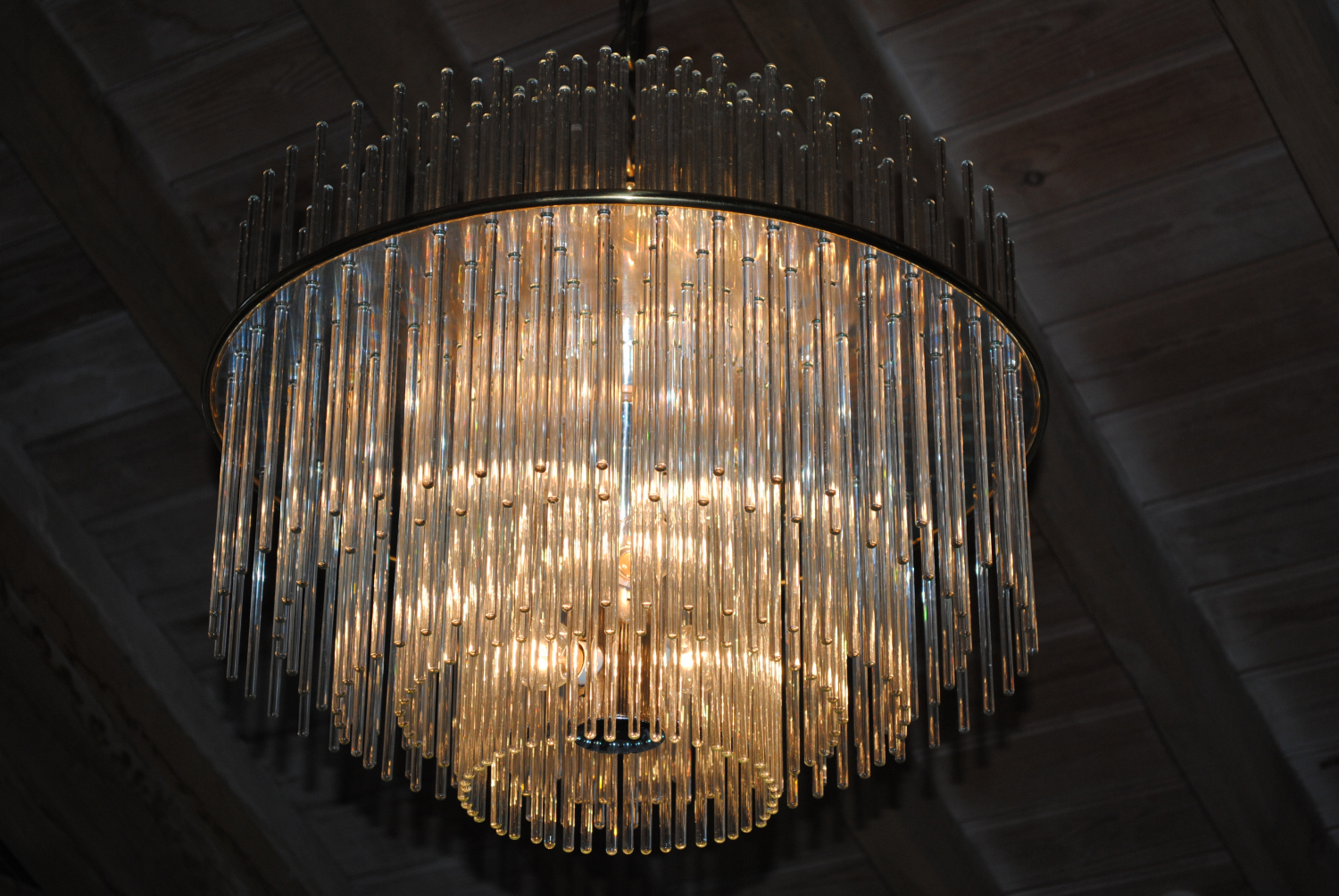 Sciolari Tiered Drop Chandelier