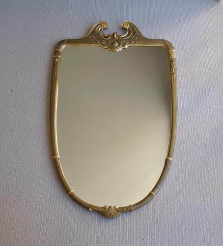 Gilt / Bronze Painted Mirror