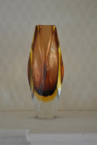 Sommerso Mandruzzato Vase