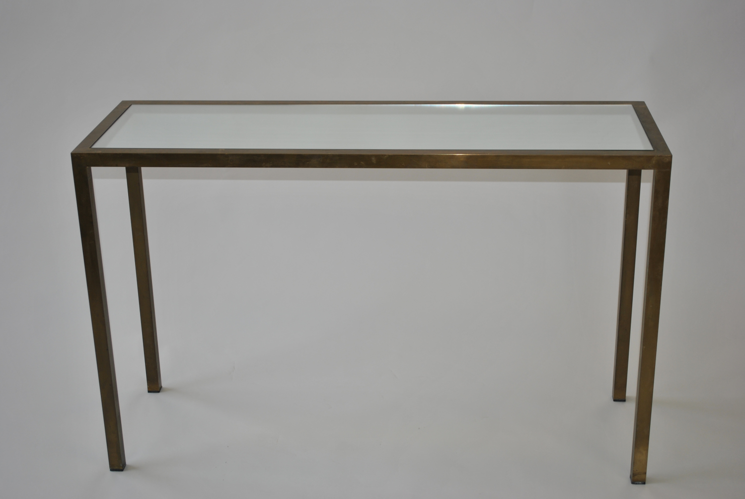 Brass Console / Hall Table