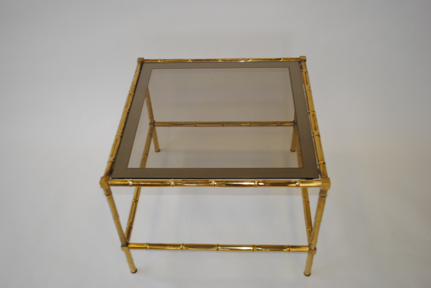 Brass bamboo Table