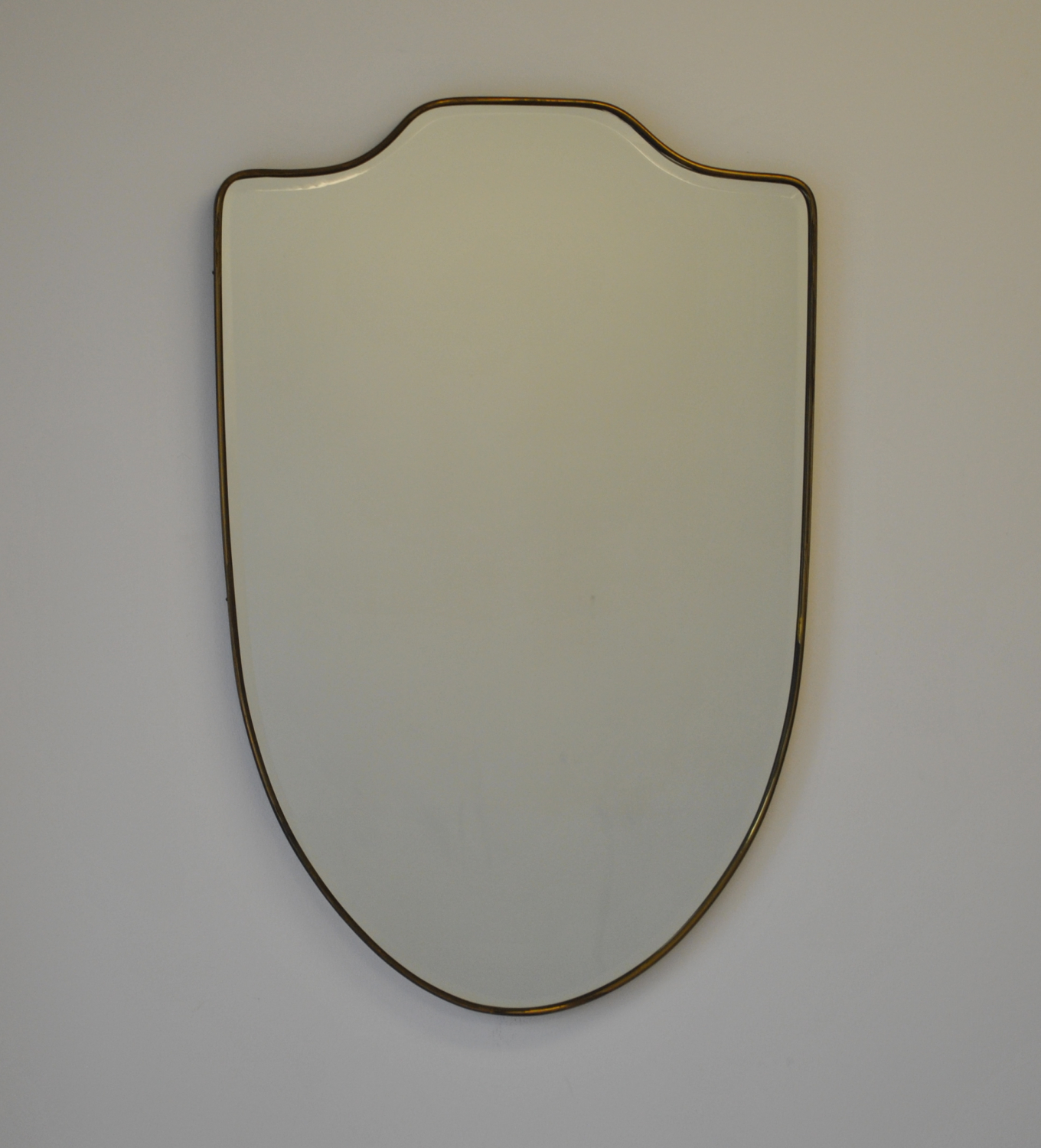Shield Mirror with Bevel