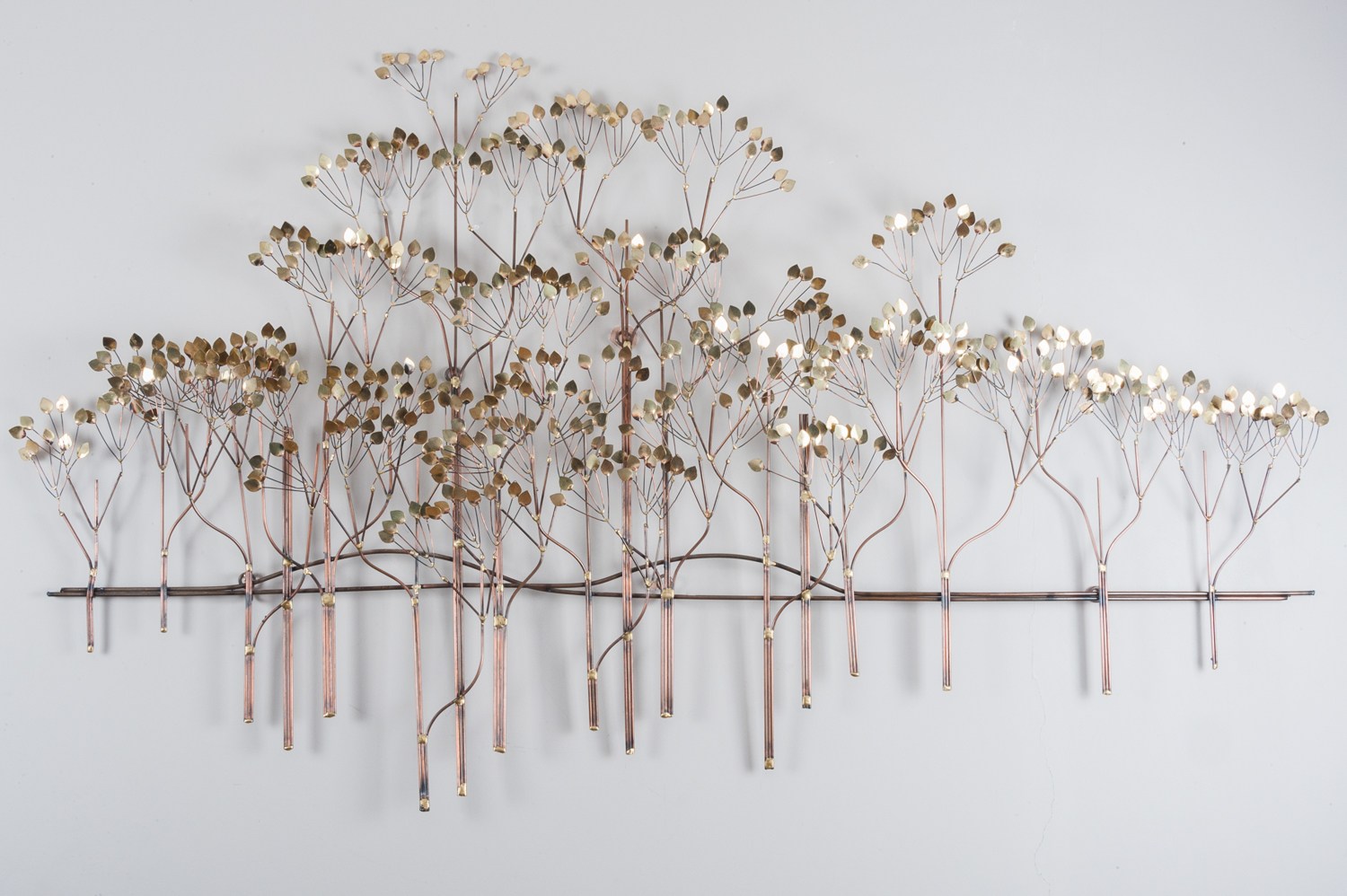 Trees wall sculpture by Curtis Jere