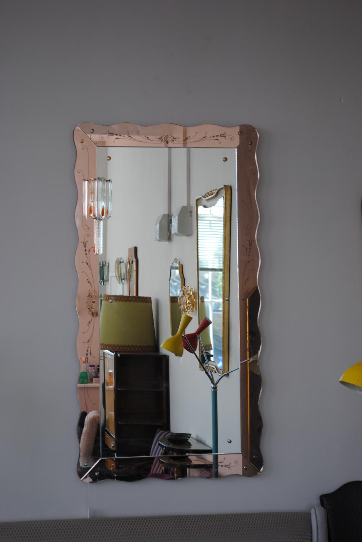 Large Italian Mirror 1950`s
