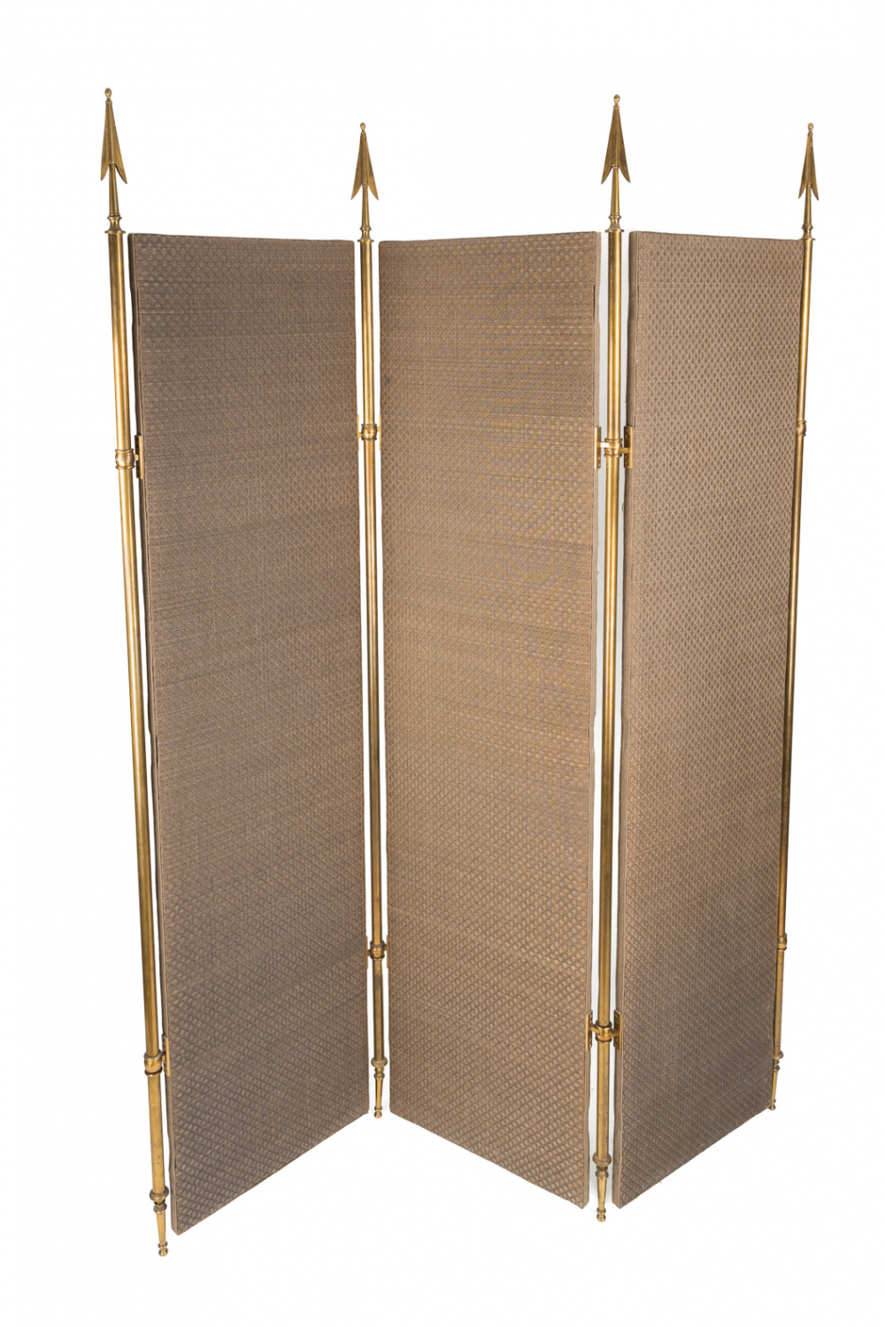 Mid Century Brass Screen