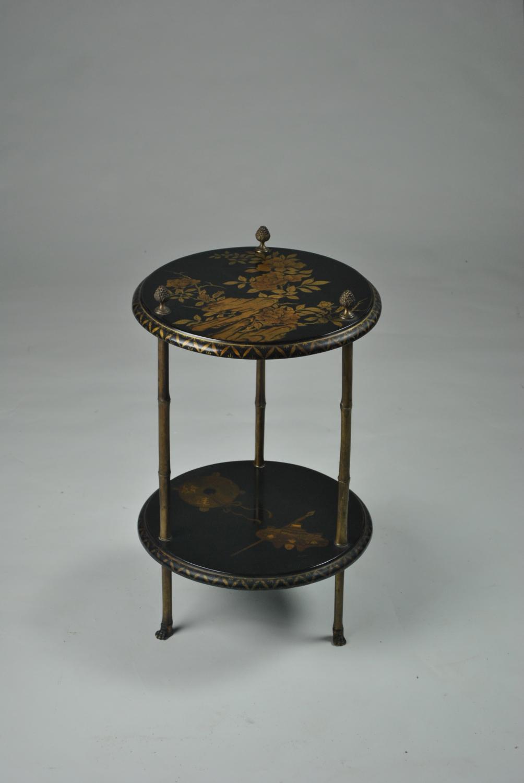 Maison Bagues Lacquer Side Table